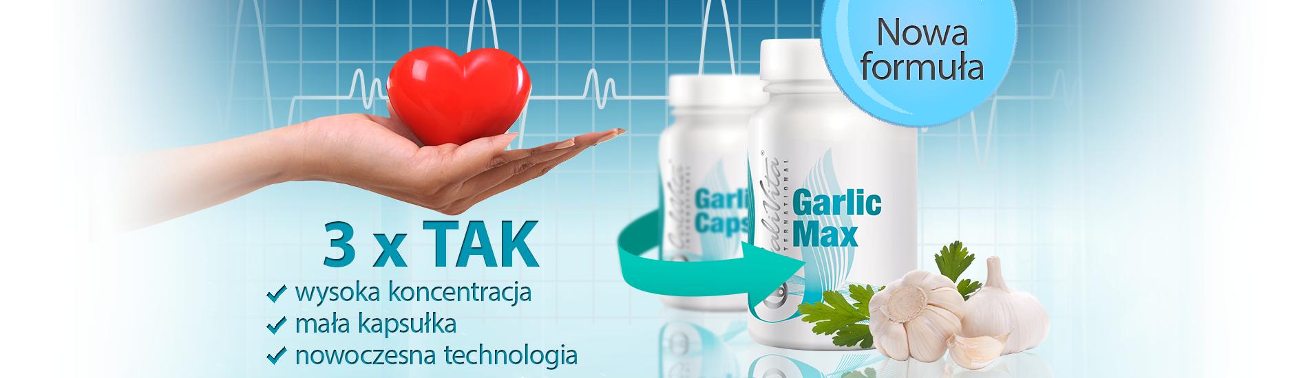 Garlic Max 100 kapsułek - czosnek na odporność - NOWOŚĆ 1
